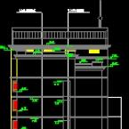 银行办公大楼建筑施工CAD图纸