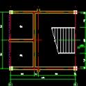 三层菜市场建筑施工CAD图纸下载