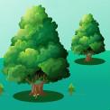 关爱地球植树节psd素材免费下载