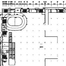 国投商业中心幕墙cad施工图