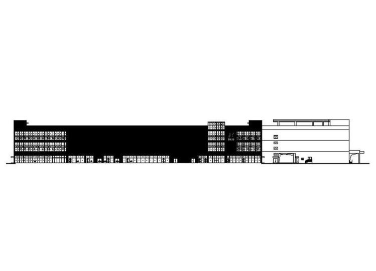 国投商业中心幕墙cad施工图截图0