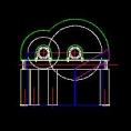 盘式磁选机CAD图纸
