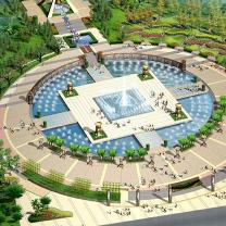 思源广场景观工程CAD图纸免费下载