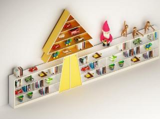 儿童书架3d模型