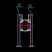 板链输送机cad图下载
