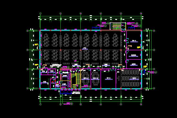 厚生楼CAD建筑施工图纸截图0