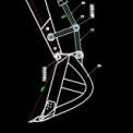 挖掘机装配图CAD图纸下载
