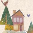 水彩插画风格幼儿园PPT课件模板