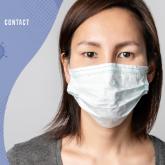 新冠病毒宣传知识PSD模板