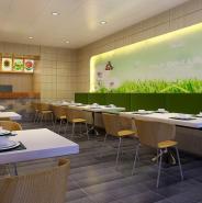 餐饮店装饰3d模型