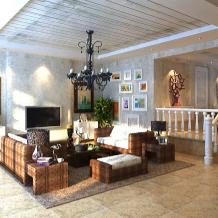 混搭风格客厅3d模型