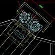 水洗筛安装图CAD图纸下载