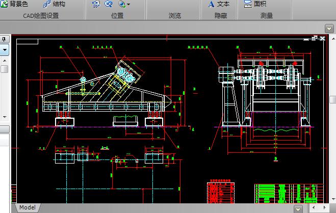 水洗筛安装图CAD图纸下载截图0