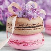 粉色甜点蛋糕PPT模板下载
