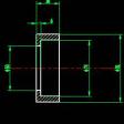 螺旋上料器CAD加工图纸