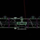螺旋输送机cad图纸