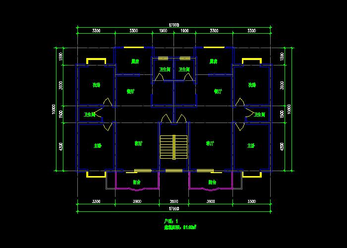多面积新户型住宅设计施工图纸截图1