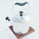 水壶3d模型免费下载