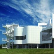 艺术中心建筑3D模型