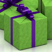 彩带礼品盒3D模型