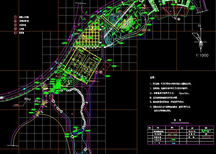 城市公园设计CAD详细图纸截图0