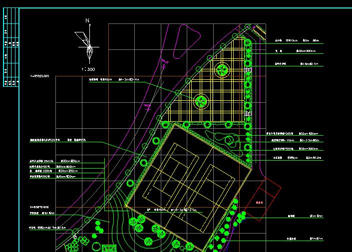 城市公园设计CAD详细图纸截图1