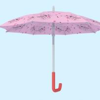 粉色花伞3d模型