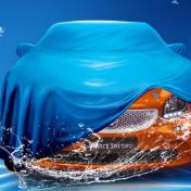 自助洗车宣传海报psd