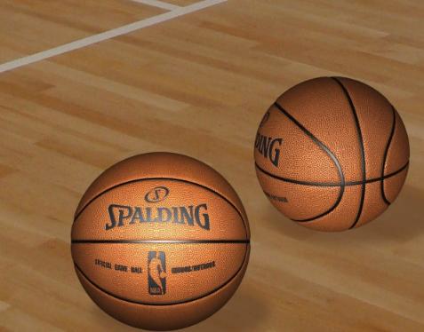 篮球3d模型截图0