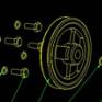 空压机装配图CAD图纸