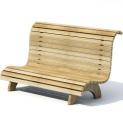 户外休闲座椅3D模型