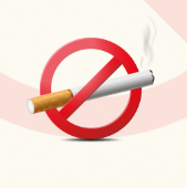 远离香烟公益海报PSD