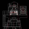 链斗卸车机CAD图纸下载