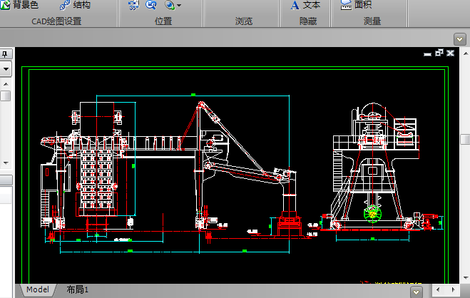 链斗卸车机CAD图纸下载截图0