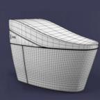 马桶坐便器3D模型下载