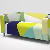 皮革长沙发3D模型