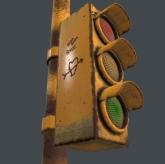 交通信号灯3D模型下载