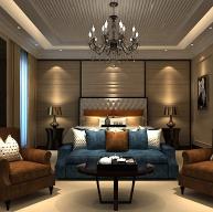 欧式现代卧室3D模型