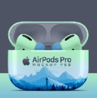 苹果无线蓝牙耳机psd