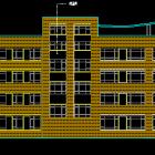 小学教学楼建筑图cad图纸