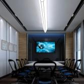 现代企业会议室3d模型