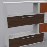 木质食品货架3d模型下载