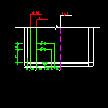 小区整栋楼给排水CAD图纸