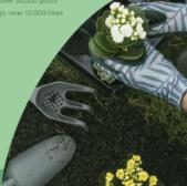 绿色环保海报psd模板
