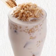 燕麦奶茶饮品海报PSD