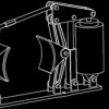 制动器CAD机械图纸