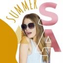 夏季大减价促销海报