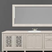 浴室柜镜子3d模型