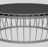 创意圆形茶几桌3D模型下载