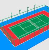 网球场3D模型下载